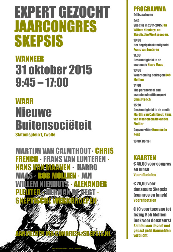 Skepsiscongres-2015-aankondiging